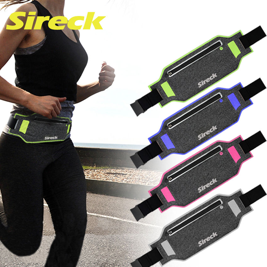 Sireck Gym Bags Multifunction Running Bag Ultralight Waterproof 6.2 Mobile Phone Belt Waist Bag Sport Fitness Cycling Pack 2018