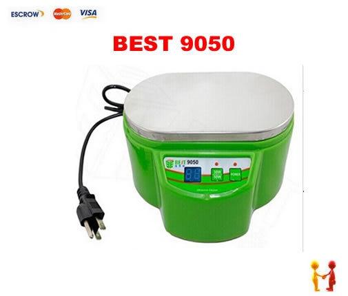 ФОТО Freeshipping, BEST 9050 Stainless Steel Ultrasonic Cleaner Dual Power 30W/50W