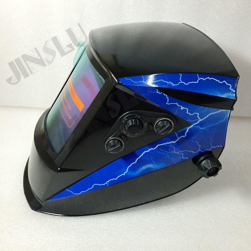 Big screen Solar Auto darkening TIG MIG MAG MMA welding helmets face mask Electric welding mask