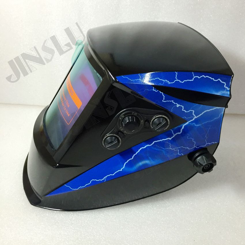 Big screen Solar Auto darkening TIG MIG MAG MMA welding helmets/face mask/Electric welding mask/welder cap 12v 0 8 1 0mm zy775 wire feed assembly wire feeder motor mig mag welding machine welder euro connector mig 160 jinslu