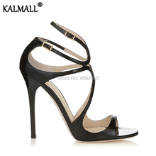 204d2eb3c KALMALL Large Size 34-43 Celebrity Fashion Ladies Shoes Summer Sapatos  Mulher Sexy Extreme High