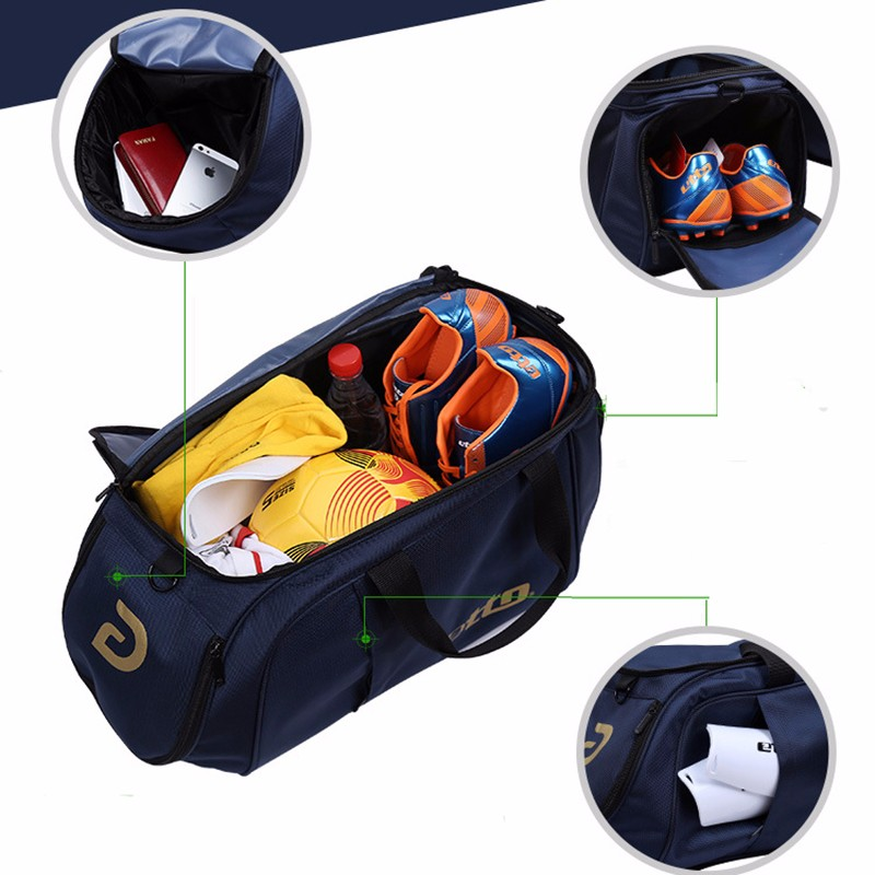 Etto Men Sports Training Bag for Football Team Uniforms and Shoes Nylon Gym  Bag for Bodybuilding Women Outdoor Travel Bag HAB301-in Training Bags from  ... 4f2a0cf457