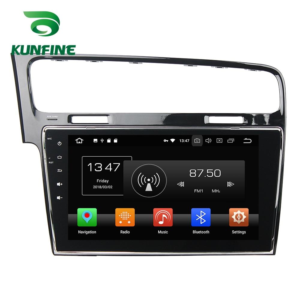Octa Core 4 GB RAM Android 8.0 voiture DVD GPS Navigation lecteur multimédia voiture stéréo sans défaut pour VW Golf 7 2013-2015 Radio WIFI