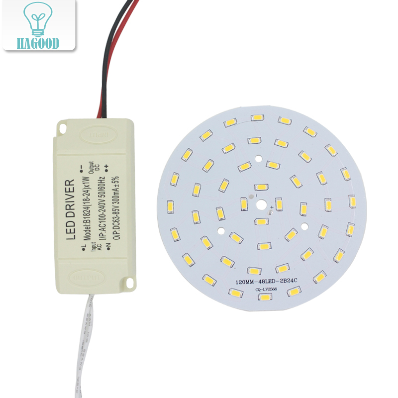 24W SMD5730 Light-emitting diode chip+plastic shell LED driver power supply for LED ceiling light 90w led driver dc40v 2 7a high power led driver for flood light street light ip65 constant current drive power supply