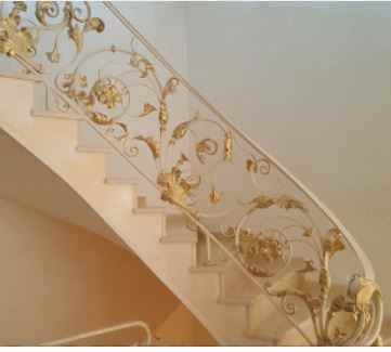 Custom Designs Wrought Iron Handrail