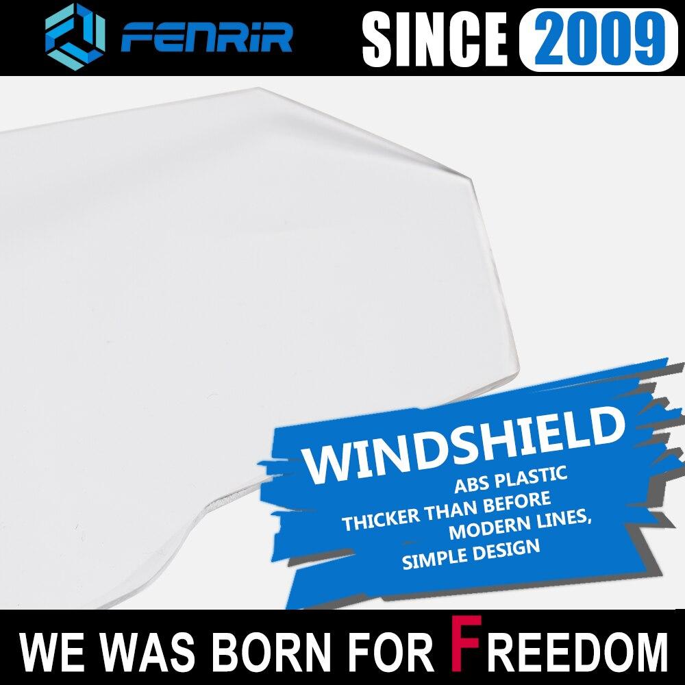windshield motorcycle wind deflector for nmax yamaha fz1 honda shadow cb400 f800gs xmax 300 kawasaki er6n cbr650f suzuki sv 650 in Windscreens Wind Deflectors from Automobiles Motorcycles