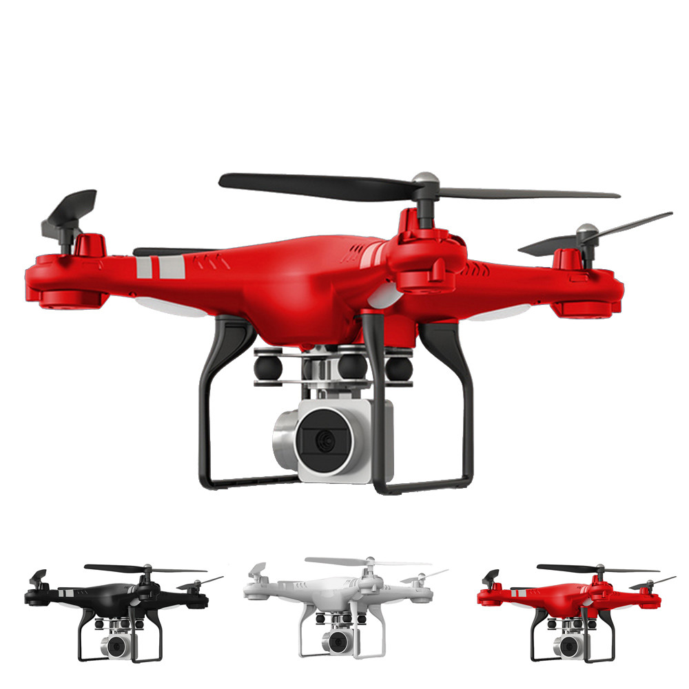 HR SH5HD 2.4G 4CH 6Axis Gyro Quadcopter WiFi FPV Drone with 170 Degree Wide Angle Lens HD Camera Headless RC Helicopter
