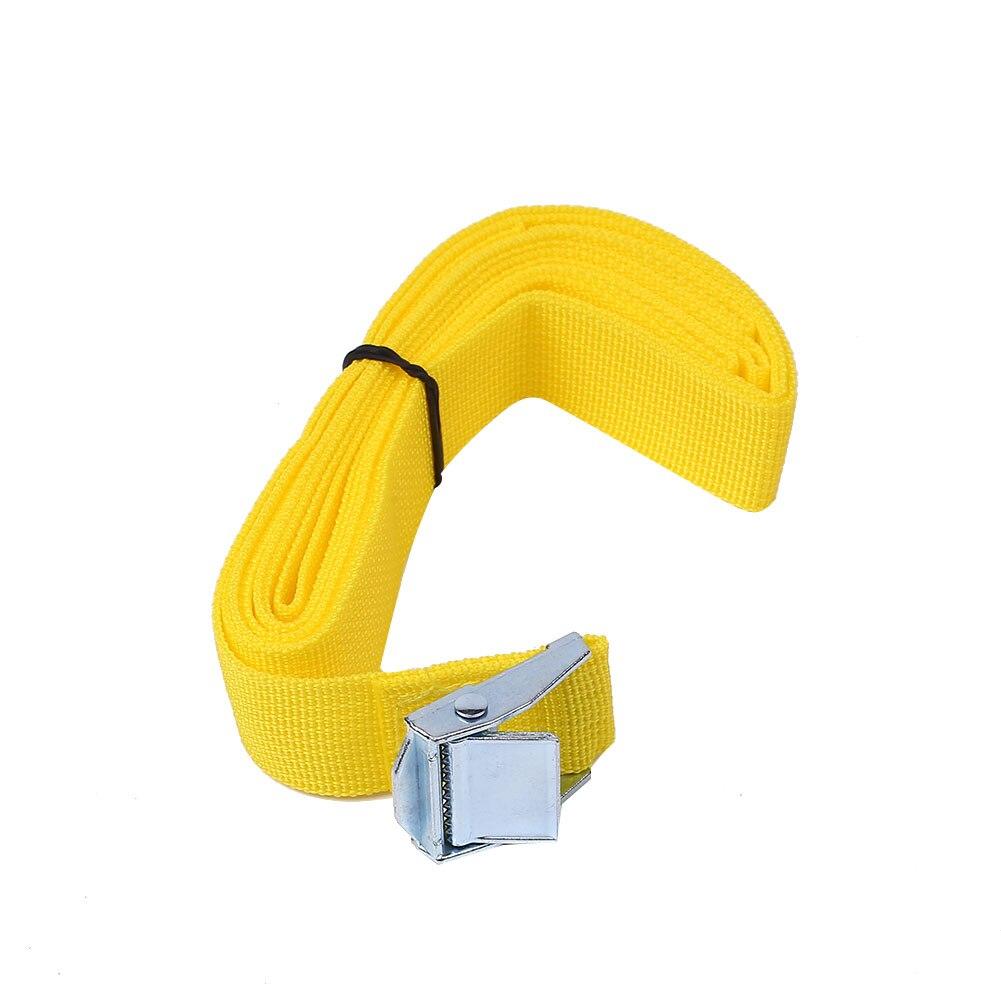 Luggage straps 2.5M Nylon Buckle Tie Down Luggage Baggage Straps Belt Quick Cargo Lash Nylon braid