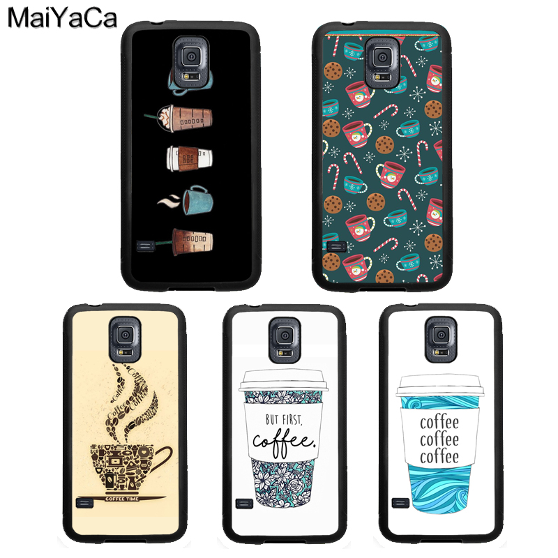 <font><b>Cute</b></font> Cartoon Coffee Cup <font><b>Case</b></font> For <font><b>Samsung</b></font> <font><b>Galaxy</b></font> A51 A71 A50 <font><b>A70</b></font> A10 A30S A40 Note 10 S8 S9 S20 Ultra S10 Plus S10e image