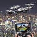 2.4 GHz Freqüência Helicóptero de Controle Remoto HD Câmera de 6 Eixos Giroscópio Quadcopter 4 Canais USB Plug 3D Modo Headless Dron