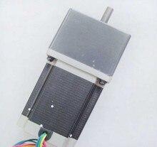 2pcs/lot 50: 1 high torque Nema 23 gear stepper motor 76 mm Length