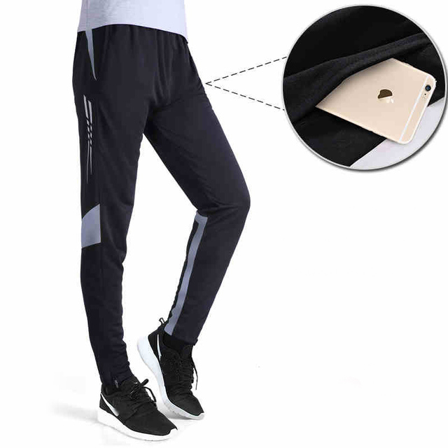 6878384afa9c1 2017 New Running Pants Football Training Soccer Pant Active Jogging Trousers  Sports Leggings Track GYM clothing Men's Sweatpants