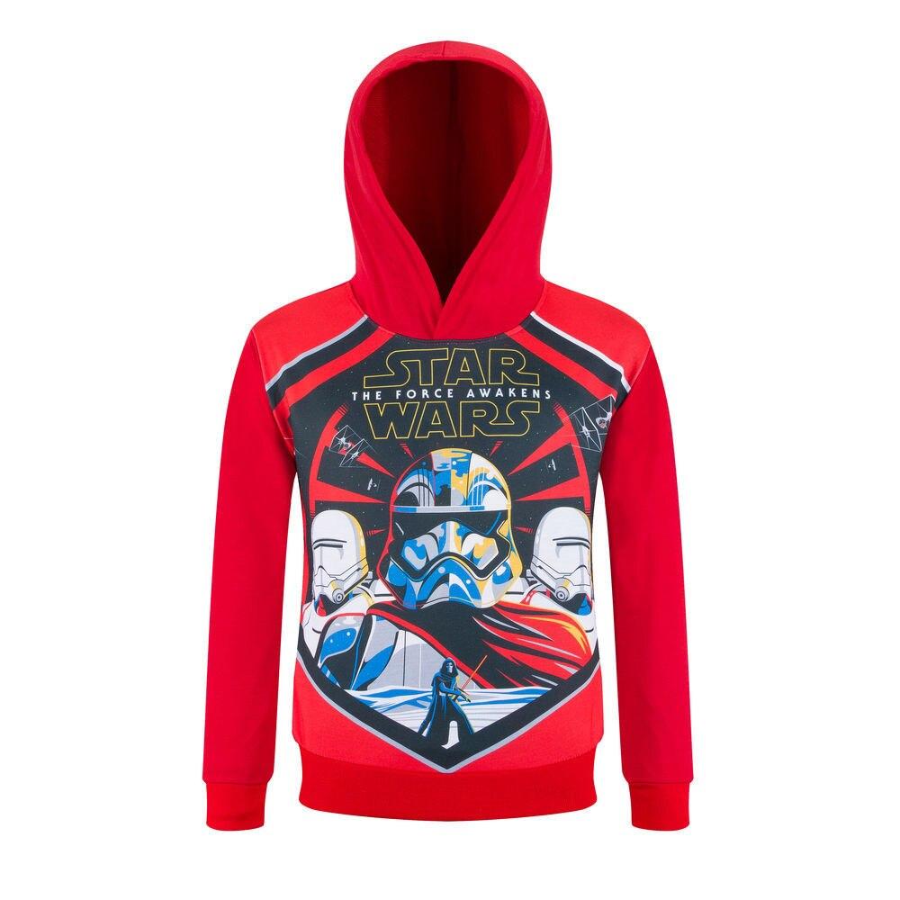 Popular STAR WARS Hoodies Kids Sweatshirts Hooded Shirt Boys