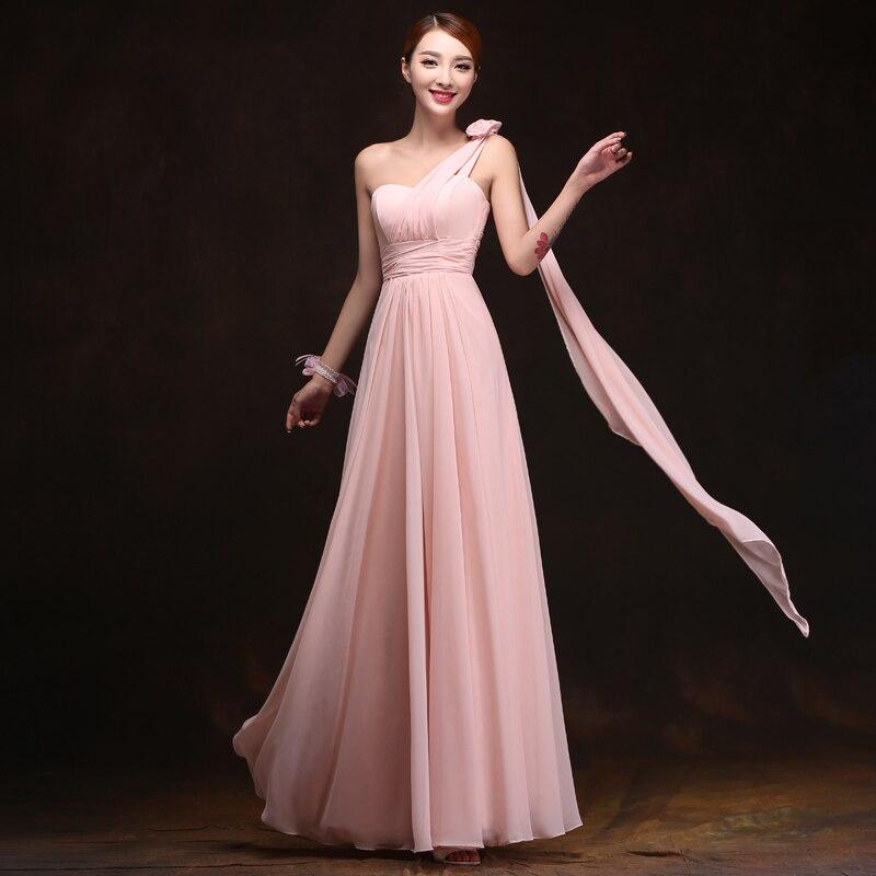 Magnífico Vestidos De Dama De Gasa Blush Ideas Ornamento Elaboración ...