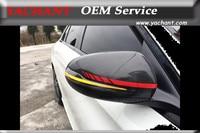 Alloggiamento Della Copertura Dello Specchio di carbonio (adatto Benz 15 + W205 C Classe 16 + W212 C207 Facelift classe e 14 + w222 s class 16 + x253 glc classe & amg)-in Specchietti e accessori da Automobili e motocicli su