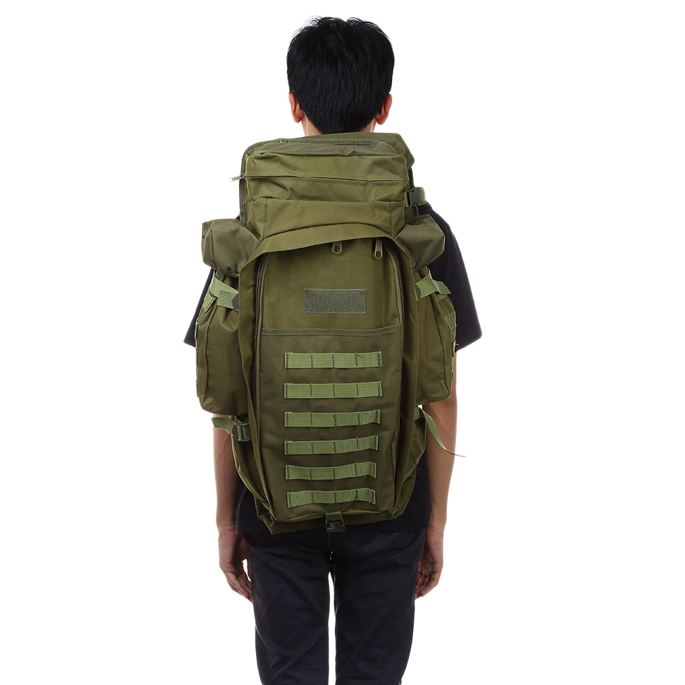 Outlife 60L USMC Army Military Tactical Backpack Outdoor Hiking Hunting Camping Rifle Backpack Bag Climbing Bags