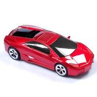 Qualità modello di auto giocattoli mini audio altoparlanti fm radio sound Giocatore di musica della carta regalo per bambini giocattoli per bambini portatili mp3 Lettore