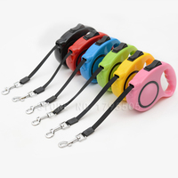 KIYUE Pet Collar Automatic Telescopic Traction Rope Dog Fashion Pet Supplies Dogs Cat Accessories Retractable Walking