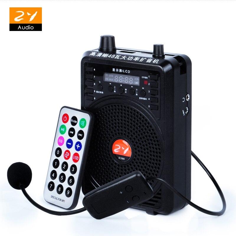 Freundlich Stimme Megaphon Verstärker Booster Mikrofon Tragbare Mini-lautsprecher Unterstützung Usb Tf-karte Fm Radio Für Lehrer Reiseleiter Förderung Reich Und PräChtig Tragbares Audio & Video Unterhaltungselektronik