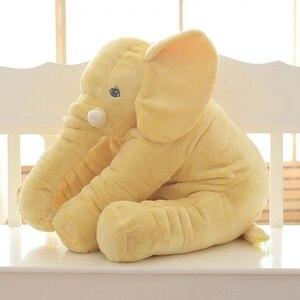 Image 4 - 1 unidad 60cm de moda bebé Animal elefante estilo muñeca peluche elefante almohada niños juguete niños habitación cama Decoración Juguetes