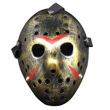New Jason vs Friday The 13th Horror Hockey Cosplay Costume Halloween Killer Masquerade Mask Halloween mask(China)