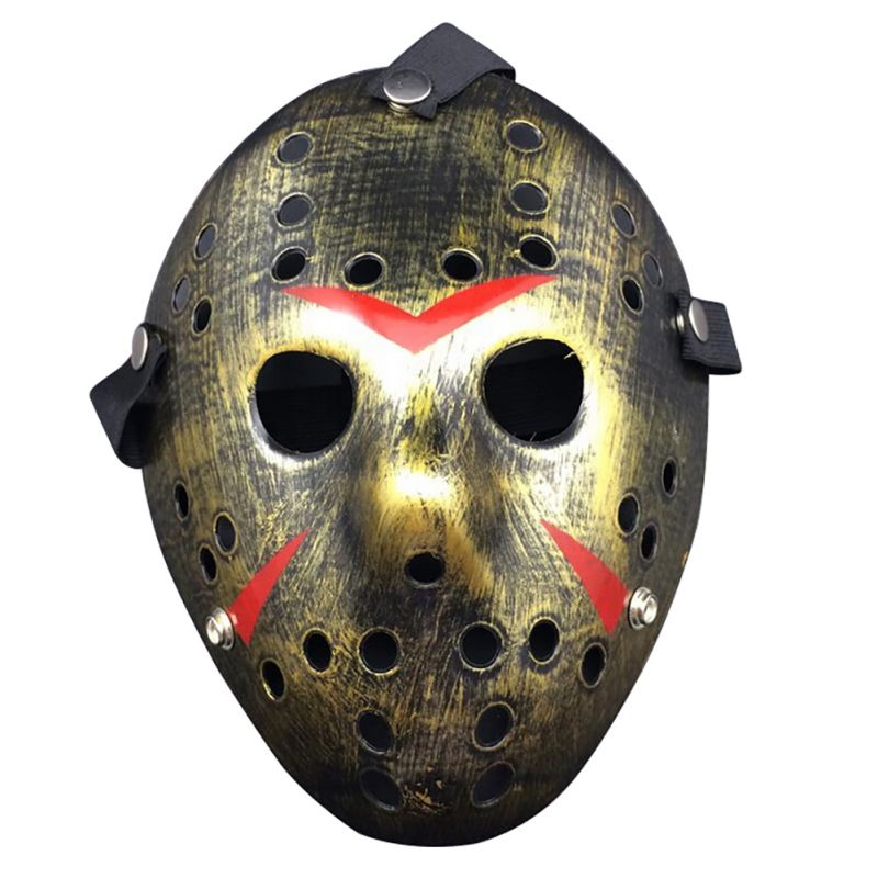 H/&D FANCY DRESS Friday the 13th Jason Deluxe Hard Prop Hockey Resin Mask Party