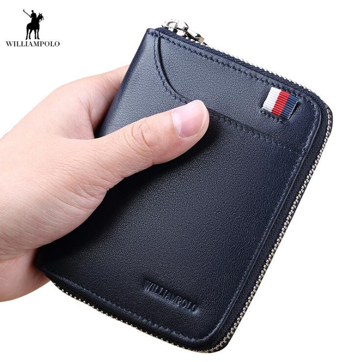 2018 Wallet Genuine Leather Women Cion Purse Men Wallets Multi card cowhide Holder Pocket visvim ballistic wallet genuine leather wallets purse page 2