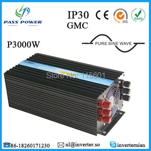 On Sale, dc to ac power inverter, off grid pure sine wave inverter, 12V 220V 3000W inverter ce and rohs dc 48v to ac 100v 110v 120v 220v 230v 240v off grid 6000 watt pure sine wave inverter