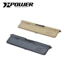 XP XPOWER Çamurluk dikroik yazı plakası airsoft hava tabancaları silah V2 parçaları Naylon Plastik