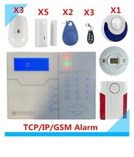 Free Shipping DIY TCP IP Alarm GSM Alarm System Burglar Security Alarm Smart Home Alarm system