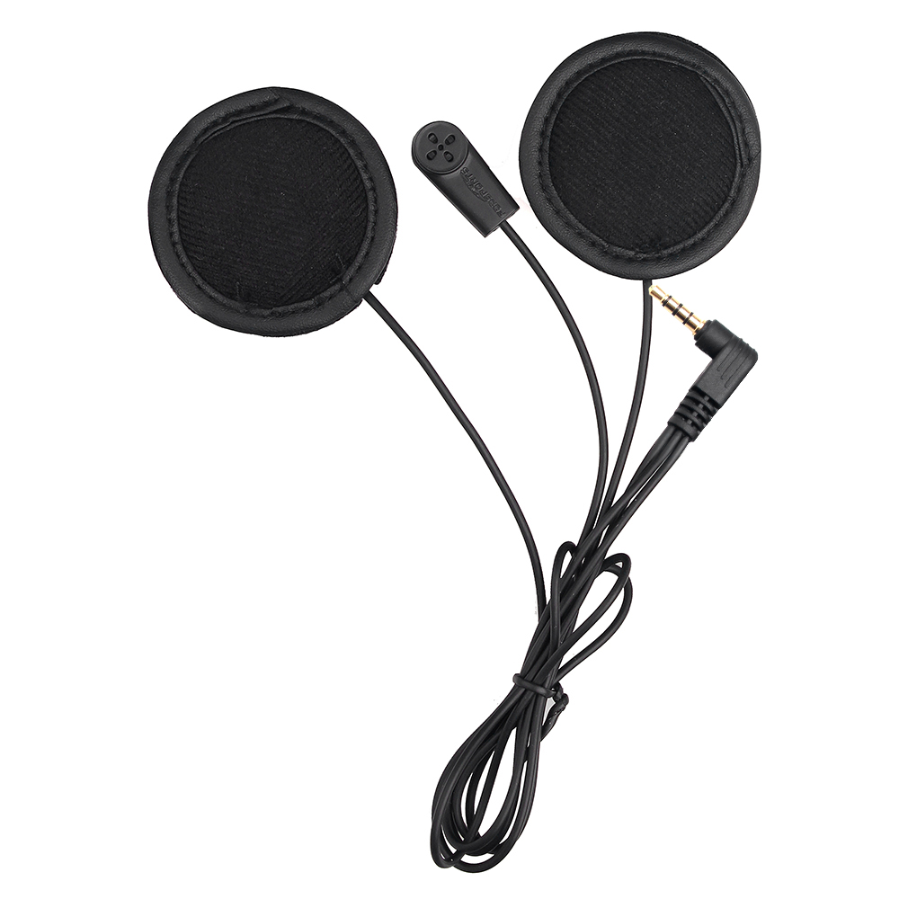 Fodsports V6 weiche mikrofon kopfhörer nur für V6 V4 motorrad helm bluetooth intercom headset