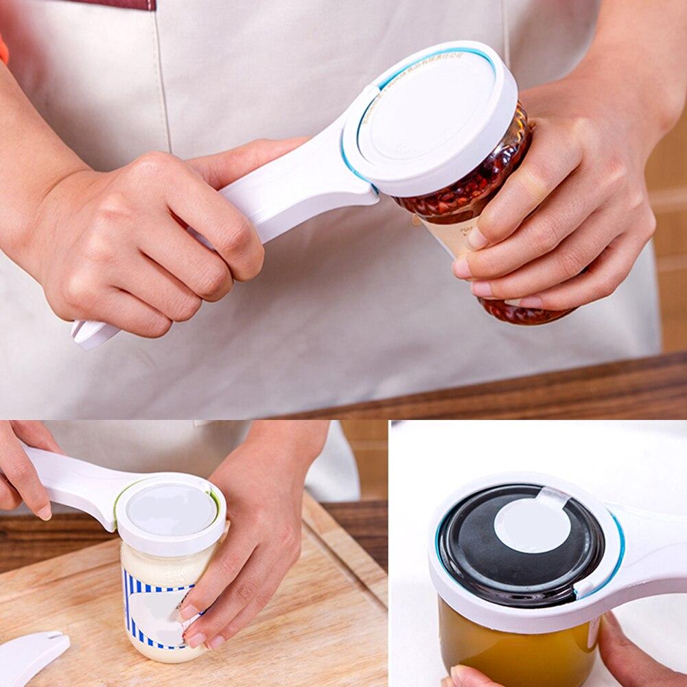 3 In 1 Multi-function Bottle Opener Can Lid Screw Opener Bottle Opener For Pop/Beer Bottle Jar Kitchen Gadgets Twist Tool