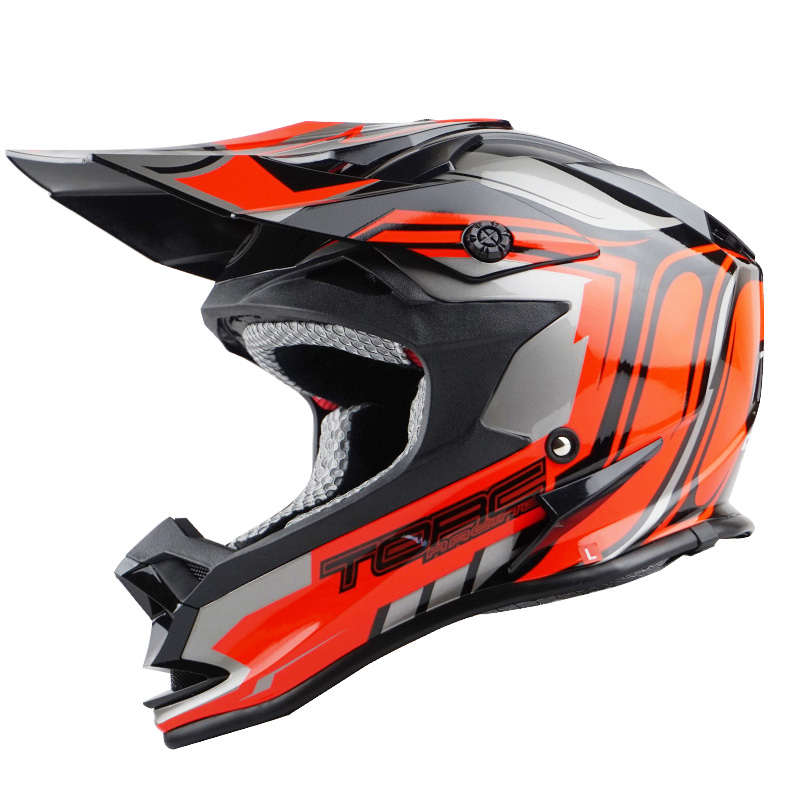 цена на Capacete motoqueiro casco Casque moto TORC Kenny motorcycle helmet Off road ATV motocross Racing helmets ECE Approved M L XL