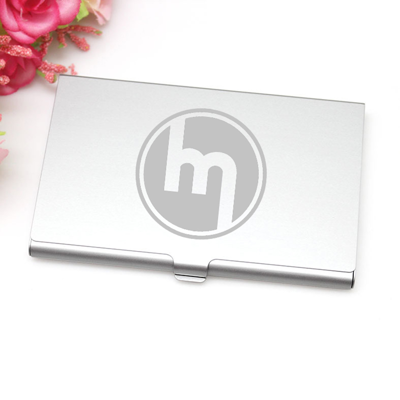 Business Card Case Logo Engraved Images - Card Design And Card Template