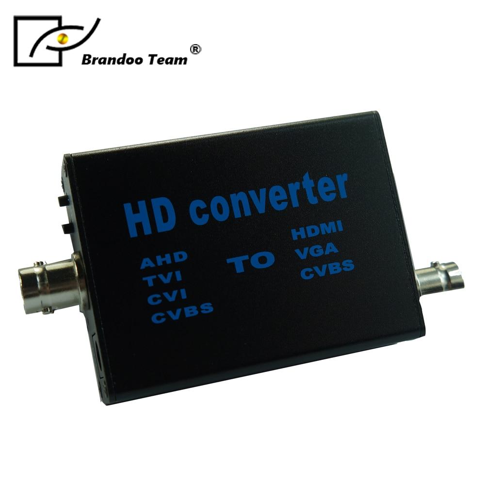 AHD/TVI/CVI to HDMI HD Converter, CVBS Coaxial Surveillance Video Signal Camera 1080p new 1080p hdmi to cvbs and s video signal converter can convert hdmi video signal to cvbs composite video signal