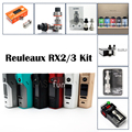 Оригинал Wismec Reuleaux RX2/3 TC 150 Вт 200 Вт Box Mod Kit с TFV8/Безграничны RDTA плюс/БЕЗГРАНИЧНЫ XL Бак/Joyetech Ultimo