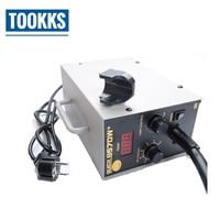580W 220V QUICK 857DW+ Adjustable Hot Air Gun Electric Heat Gun Soldering Tempeture Digital Display Soldering Station