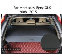 car accessories High Qualit Car Rear Trunk Cargo Cover Security Shield Screen shade Fit For Benz GLK 2008 2015 BY EMS