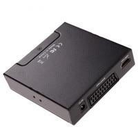 2016 Sale Scart HDMI To HDMI 720P 1080P HD Video Converter Monitor Box For HDTV DVD