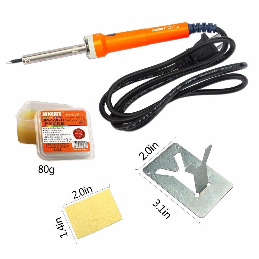 JAKEMY 23 in 1 Electric Soldering Iron Set Welding Hot Gun Repair Tools with Solder Paste Tweezers Tin Wire for Phone PC Watch авито сочи одежда волонтеров 2014 б у
