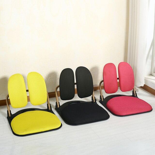 Smart Folding Tatami Ergonomic Comfort Legless Floor Zaisu Chair Compact  Seat Living Room Furniture Relax Leisure