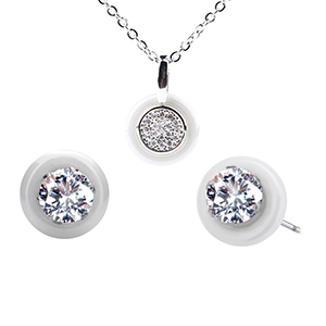Small Round Silver Plated...