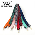 W.D.POLO Strapper you flower snake skin leather handbag strap self design high chic brand  venlentine presents bag strap M2329