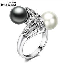 Женские вечерние кольца dreamcarnival 1989 элегантные белые