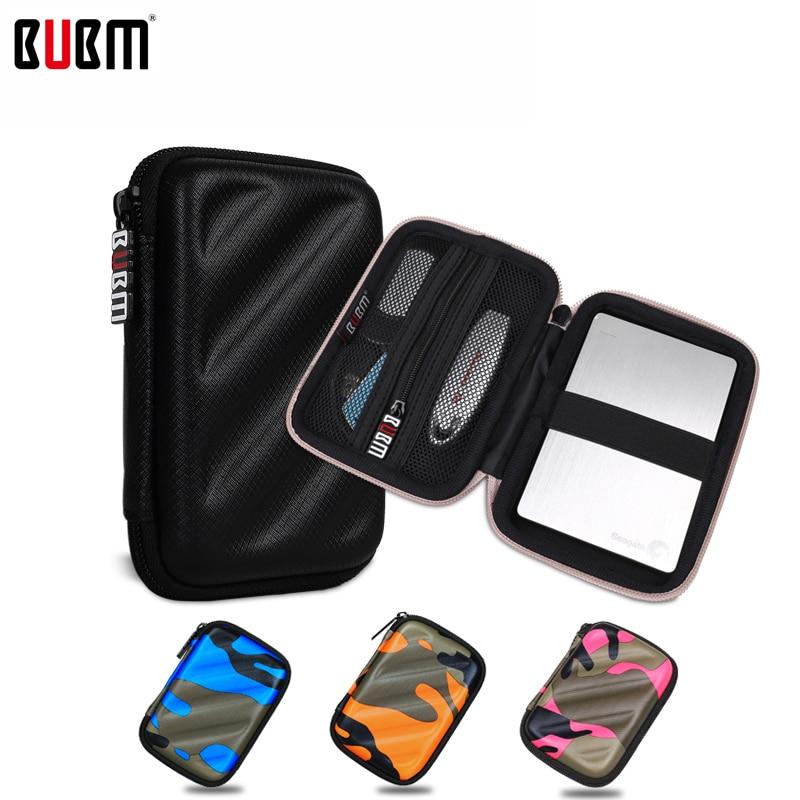 Qese BUBM Portable EVA për Rastin e diskut 2 me madhësi 7 ngjyra Aksesorë Elektronikë Qese udhëtimi Organizer Qese marrëse dixhitale