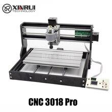 CNC 3018 Pro GRBL kontrolü Diy mini CNC makinesi, 3 eksen pcb freze makinesi, ahşap yönlendirici lazer gravür, çevrimdışı denetleyici