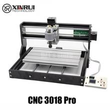 Mini machine CNC Pro GRBL control, fraiseuse 3 axes pcb, gravure laser, routeur à bois, avec contrôleur hors ligne, bricolage 3018 cnc