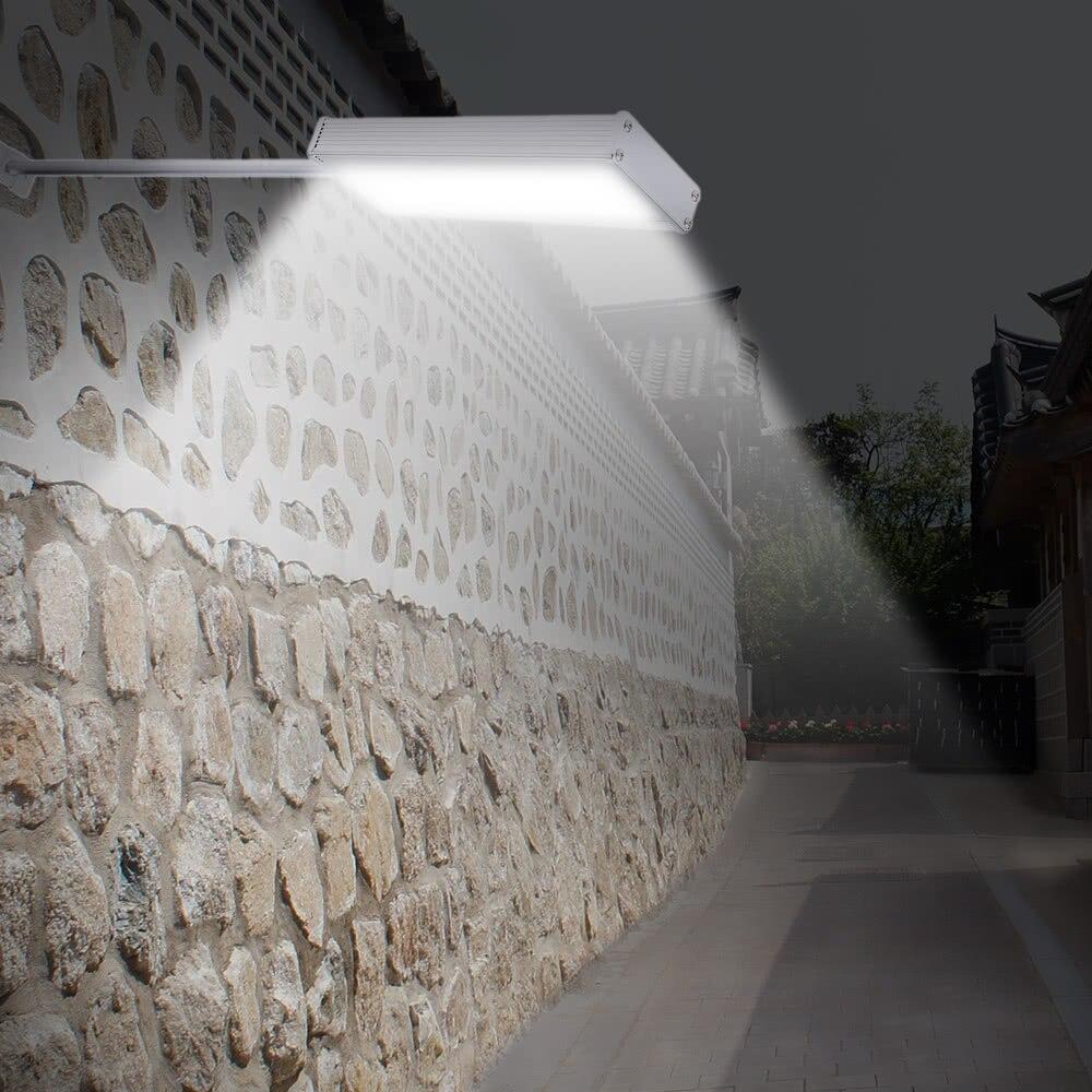 Straightforward 48leds 800lm 4modes Super Bright Microwave Radar Motion Sensor Solar Light Street Outdoor Wall Path Lamp Security Spot Lighting Relieving Heat And Thirst. Led Outdoor Wall Lamps Led Lamps