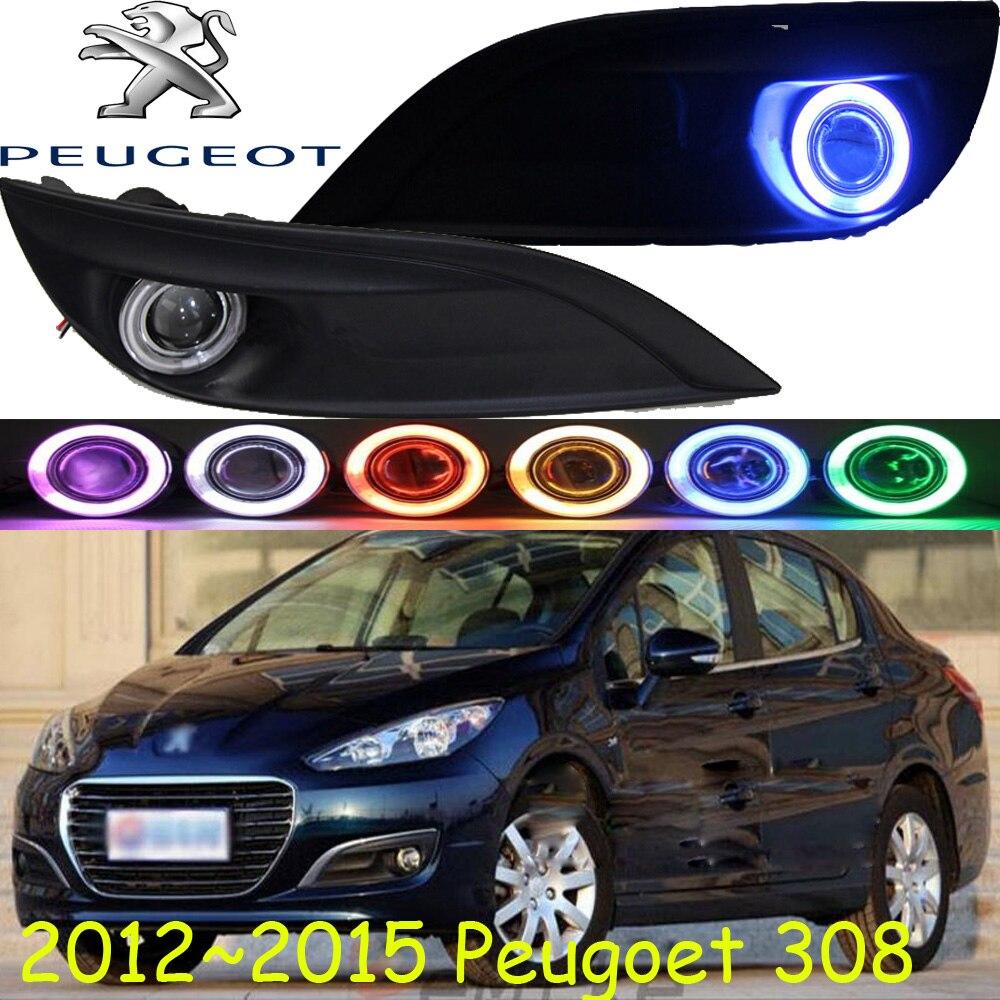2012~2015 Peugeo 308 fog light,Free ship!308 headlight,206 207 308 3008 408 4008 508 Raid RCZ,Partner;308 day lamp