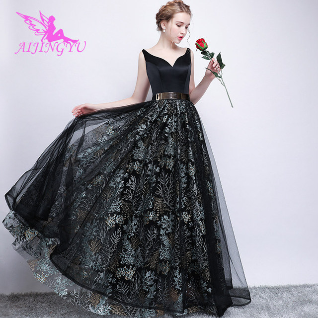 8151f1ac21 US $58.0 |AIJINGYU Evening Party Long Dress Gown 2018 Women Elegant Sexy  Formal Special Occasion Dresses Fashion Ball Gowns FS258-in Evening Dresses  ...